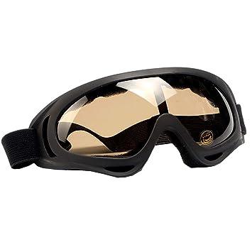 BOHENG Gafas de esquí, Gafas de esquí polarizadas, a Prueba de Viento, Uv400