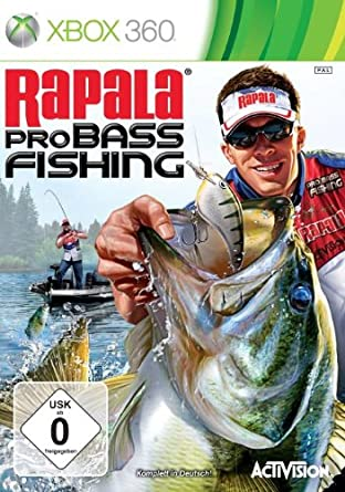 Rapala Pro Bass Fishing 2010 Xbox 360 Amazon De Games