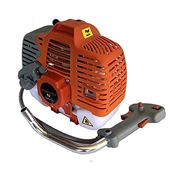 Motor 2 tiempos desbrozadora ahoyador 43cc: Amazon.es: Bricolaje y ...
