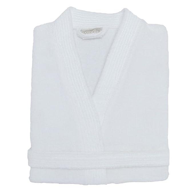 1310660b09 Amazon.com  Terry Cloth Bathrobe %100 Cotton Men s Women s Robe Best Gift  for Her By Mirko  Clothing