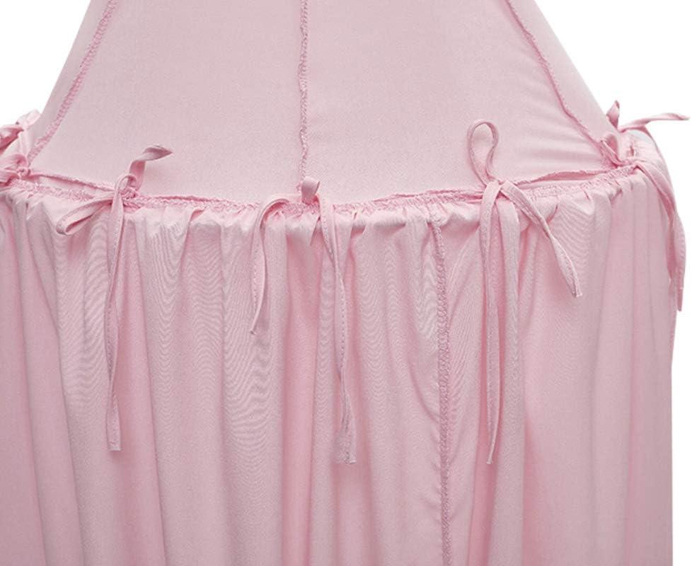 emisferica in chiffon zanzariere per bambini rosa Tenda a baldacchino per bambini a cupola rotonda tenda da gioco per bambini
