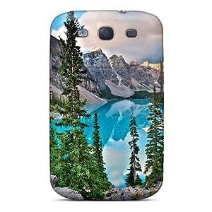 Galaxy S3 Lake Moraine Print High Quality Tpu Gel Frame Case Cover