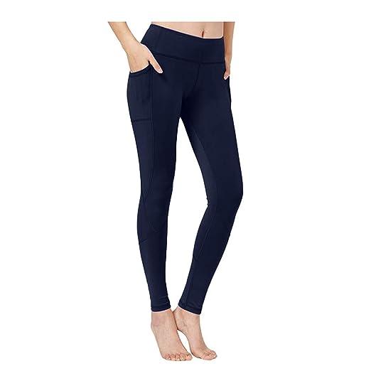 ZahuihuiM - Pantalón de chándal de Alta Elasticidad para Mujer ...