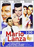 Mario Lanza Box Set (3 DVD) (Region 2) The Great Caruso - Serenade - Seven 7 Hills of Rome (Arrivederci, Roma)