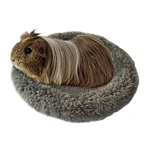 (BWOGUE Hamster Bed,Round Velvet Warm Sleep Mat Pad for Hamster/Hedgehog/Squirrel/Guinea Pig/Rats and Other Small Animals)