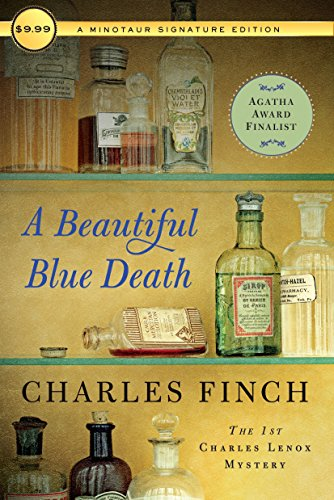 A Beautiful Blue Death: The First Charles Lenox Mystery (Charles Lenox Mysteries)