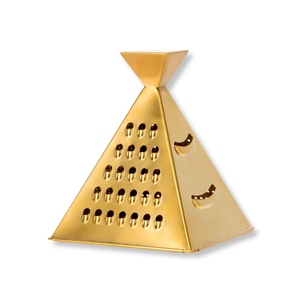 W&P WP-BUEN-GRAG Nacho Grater, Cheese Grater, Multi Use Food Shredder, Kitchen Tools, Gold