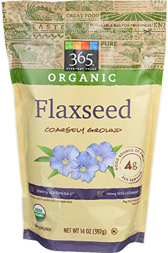 365 Everyday Value, Organic Flaxseed Coarsely Ground, 14 oz