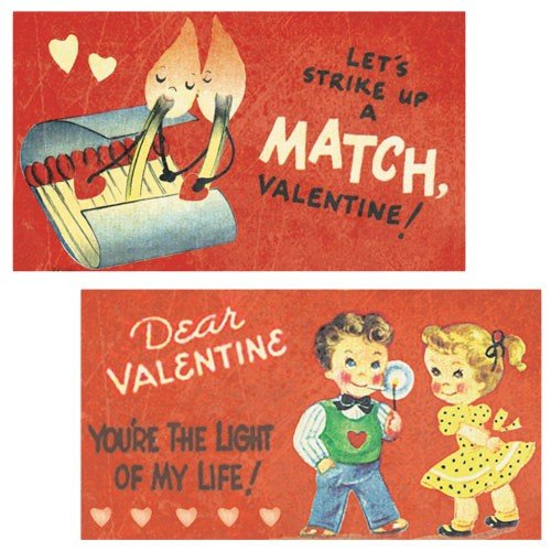 World Buyers Decorative Matches, set of 2 boxes, Valentine Light Decorative Matches