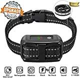 Dog Bark Collar [Newest 2019] Anti Bark Collar-5 Adjustable Sensitivity and Intensity Levels-Dual