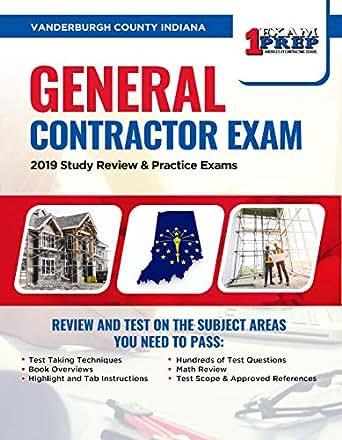 Vanderburgh County Indiana General Contractor Exam: 2019