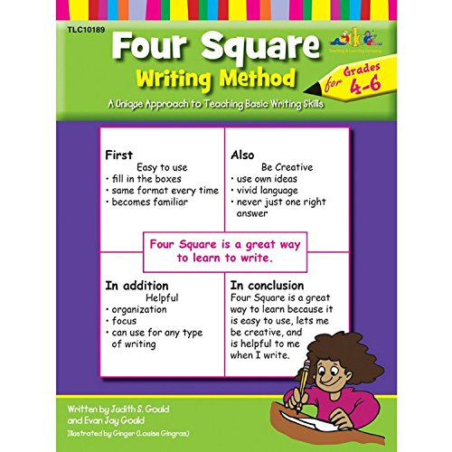 Teaching and Learning TL-10189 Co Four Square Writing Method Book, Grades 4-6