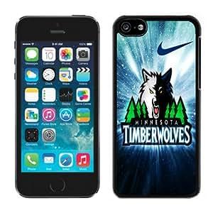 MMZ DIY PHONE CASEminnesota timberwolves Black Hard Plastic iphone 6 plus 5.5 inch Phone Cover Case