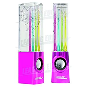Leading Edge: Dancing Water Speaker - Pink