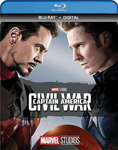 CAPTAIN AMERICA: CIVIL WAR [Blu-ray] (Blu Ray Captain America The Winter Soldier)