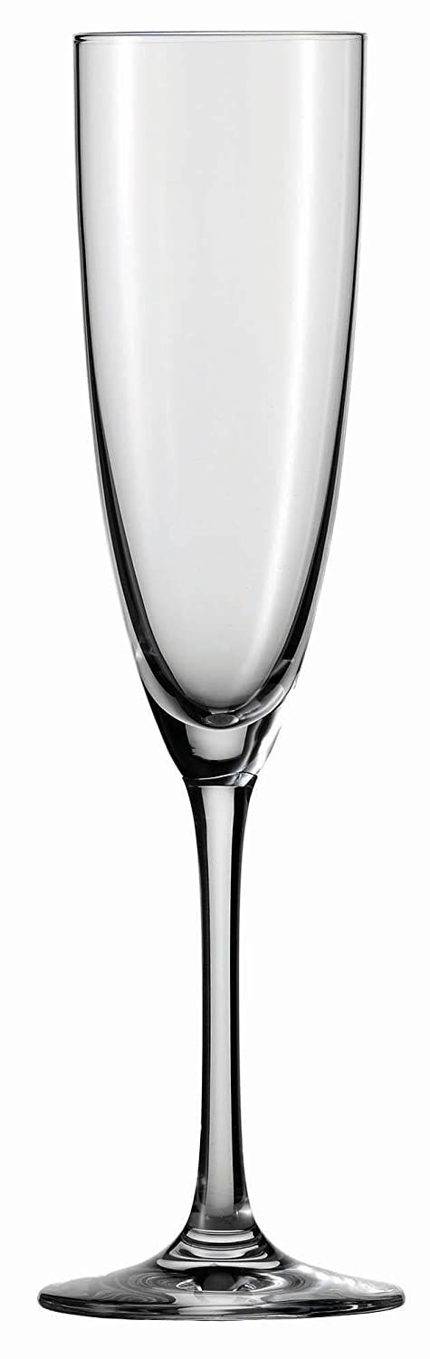 7-Ounce Champagne Flute Schott Zwiesel Tritan Crystal Glass Classico Stemware Collection Cocktail Martini Glass, 8.5-Ounce, Set of 6