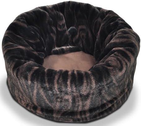 犬 猫のベッド スナッグルベッド L トリュフブラウン SNUGGLE BED P.L.A.Y プレイ カフェマットorお散歩バッグ付き