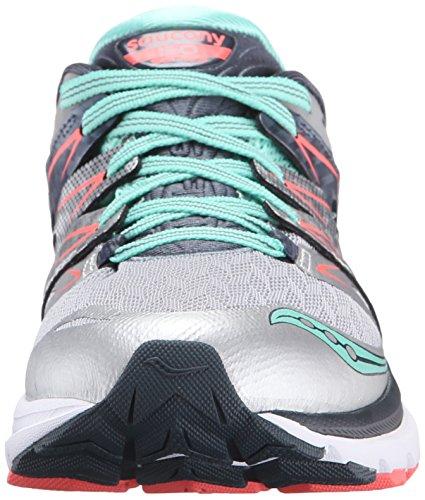 Femme Argenté 2 corail Saucony Chaussures De menthe Iso W Running Zealot qwx10P8F