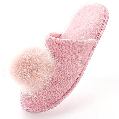 Memory Velvet flip INFLATION Flops Bottom Slippers Soft Lady Pink Slip Spa Slippers foma Non I45xFHxq