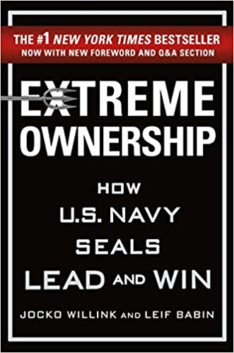 Extreme Ownership (How US Navy seals lead and win) book cover