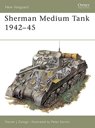 (Sherman Medium Tank 1942–45 (New Vanguard))