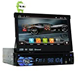 "Quad-core Android 6.0 Single 1 Din 7"" Universal Touch screen Car DVD Player Autoradio With GPS Navi Bluetooth Auto radio Stereo Car Audio BT USB SD WIFI 2G RAM + 16G ROM FREE MAP"