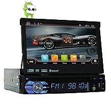 "Quad-core Android 6.0 Single 1 Din 7"" Universal Touch screen Car DVD Player Autoradio With GPS Navi Bluetooth Auto radio Stereo Car Audio BT USB SD WIFI 2G RAM + 16G ROM FREE MAP"
