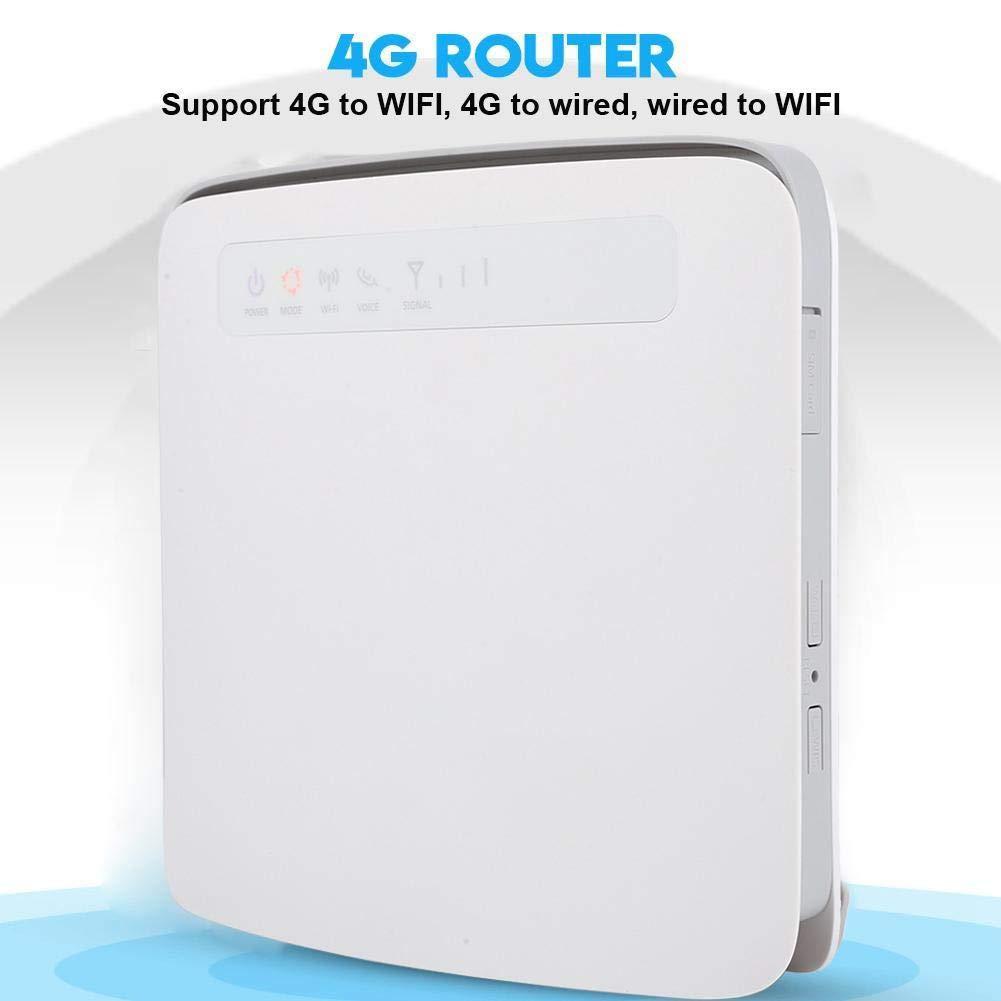 ASHATA CPE 4G Router Inalámbrico 300Mbps, LTE Router ...
