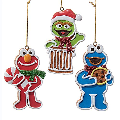3 Assorted Multiples of Elmo, Cookie Monster And Oscar The Grouch
