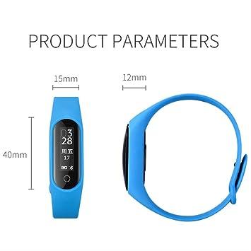 LFDYDSH Smart Watch Podómetro frecuencia cardíaca IP67 a ...