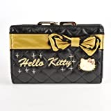 Hello Kitty Gold Bowknot Clutch Wallet Card Coin Purse, Bags Central