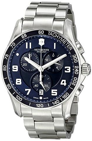 Victorinox Men's 241652 Stainless Steel Watch (Swiss Mens Classic)