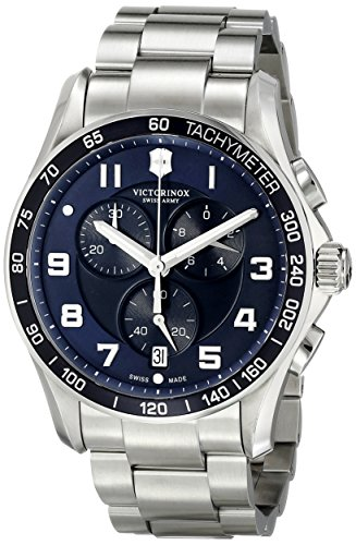 (Victorinox Men's 241652 Stainless Steel Watch)