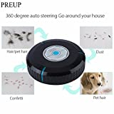 Generic 2017 High Quality Home Auto Cleaner Robot Microfiber Smart Robotic Mop Dust Cleaner Cleaning-black In Stock Drop Shipping