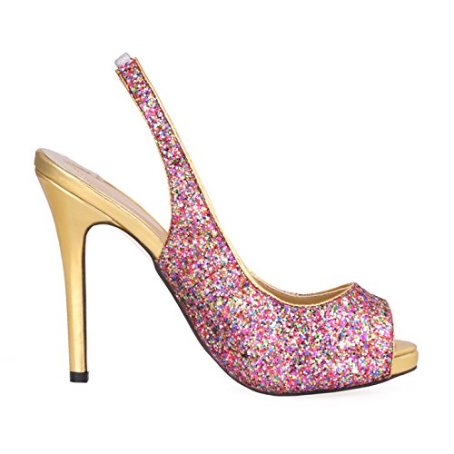 Click women fall new annual evening after the night air nozzle on fish shoes purple chip high-heel shoes d5xtiF