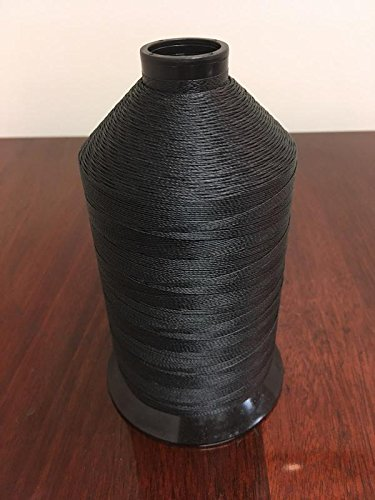 Thread Sewing Bonded Nylon 207 Denier Black (Thread Tec)