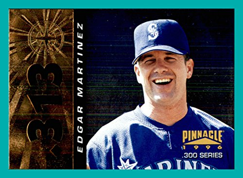 - 1996 Pinnacle FOIL #313 Edgar Martinez SEATTLE MARINERS currently 2017 M's Hitting Coach