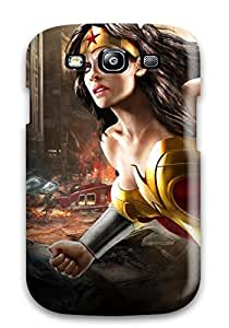 Protection Case For Galaxy S3 / Case Cover For Galaxy(wonder Woman Dc Universe Online) wangjiang maoyi