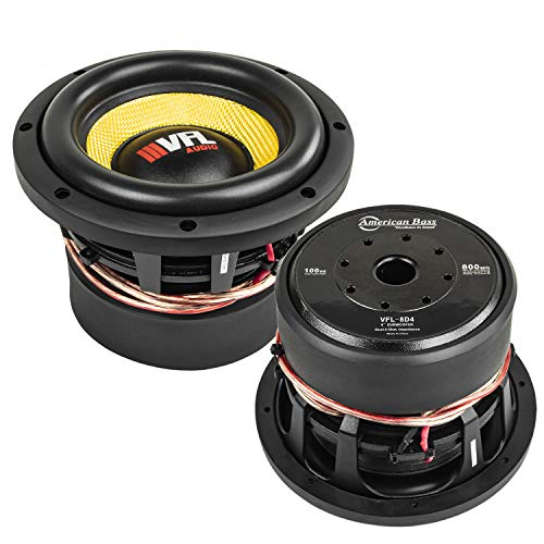 Expert choice for american bass vfl 8 inch subwoofer