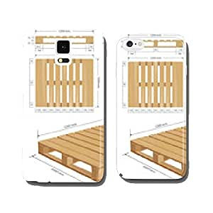American standard pallet views cell phone cover case Samsung S5