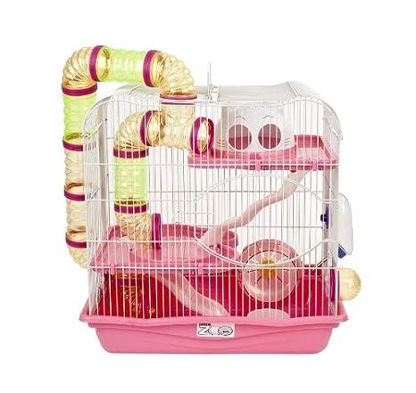 Little Zoo Henry Medio Jaula de hámster: Amazon.es: Productos para mascotas