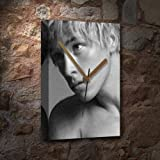 MITCH HEWER - Canvas Clock (A5 - Signed by the Artist) #js004