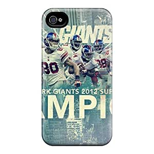Apple Iphone 4/4s High Quality Hard Cell-phone Case Unique Design Stylish New York Giants Pattern [KMN26595mtUt]