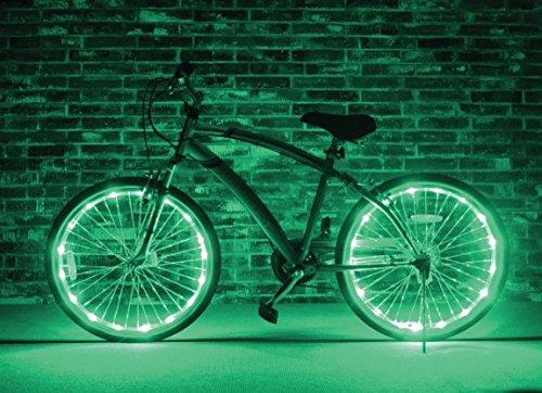 Brightz, Ltd. Wheel Brightz LED Bicycle Light (2-Pack Bundle for 2 Tires)
