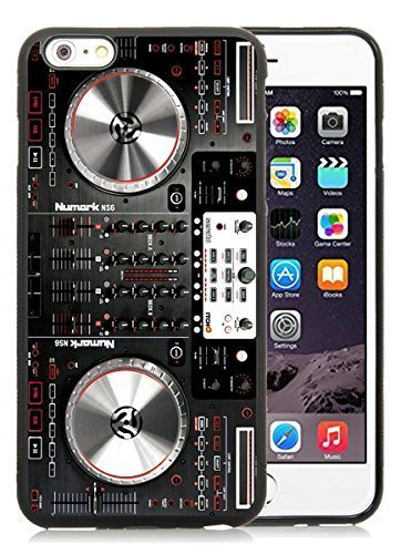iPhone 6 Plus TPU Case,Numark NS6 Disc Jockey DJ Turntabl...