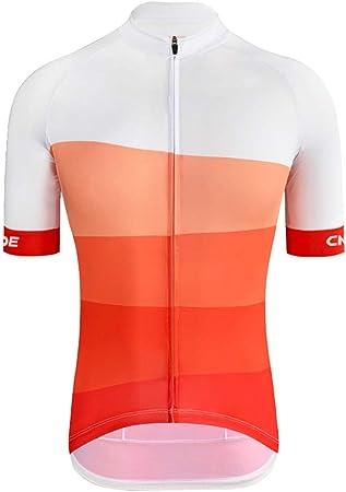 Hkwshop Ciclismo Maillots Camiseta de Verano Jersey de Ciclo ...