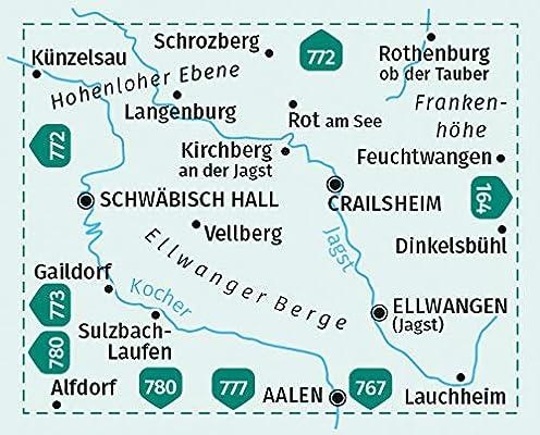 Hohenlohe Ellwanger Berge Crailsheim Schwabisch Hall 4in1