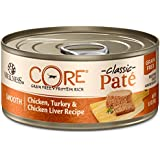 Wellness CORE Natural Grain Free Wet Canned Cat Food, Chicken & Turkey, 5.5-Ounce Can (pack of 24)