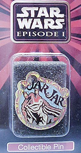Star Wars Episode 1 Jar Jar Collectible Pin