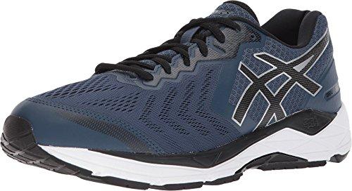 D&m Custom Cycle Support (Asics Men's Gel-Foundation 13 Running Shoes (7.5 D US, Dark Blue/Black/White))